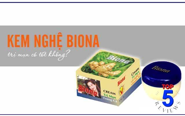 Kem Nghệ Biona - Thuốc trị mụn 15k