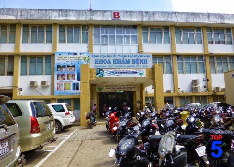 Khoa khám bệnh - Bệnh Viện Da Liễu TPHCM