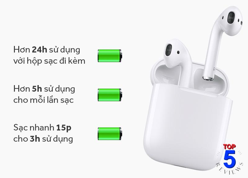 Tai Nghe Bluetooth cao Cấp AirPods Apple MMEF2