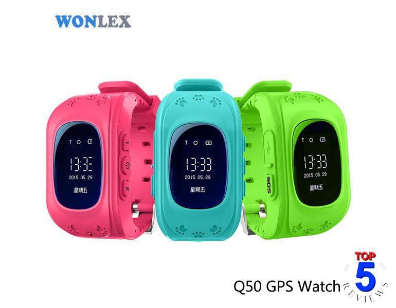 Đồng hồ định vị trẻ em GPS Wonlex Q50