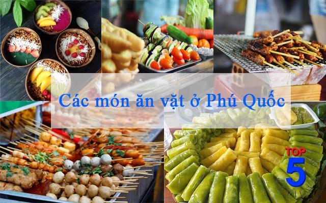 Các món ăn vặt Phú Quốc