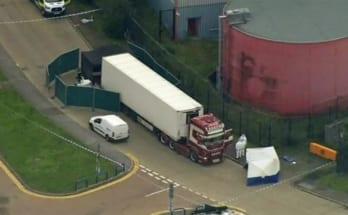 39 người chết trong thùng xe tải