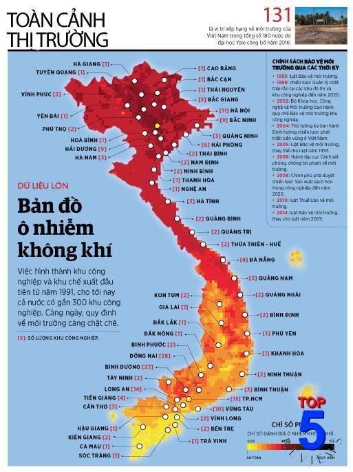 Thực Trạng Ô Nhiếm Không Khí Ở Việt Nam