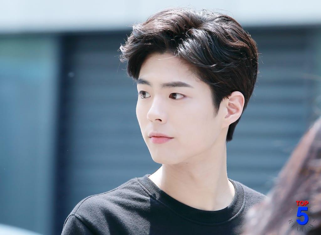 Kiểu tóc nam đẹp Hàn Quốc 1
