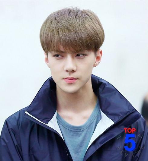 Kiểu tóc nam đẹp Hàn Quốc 2