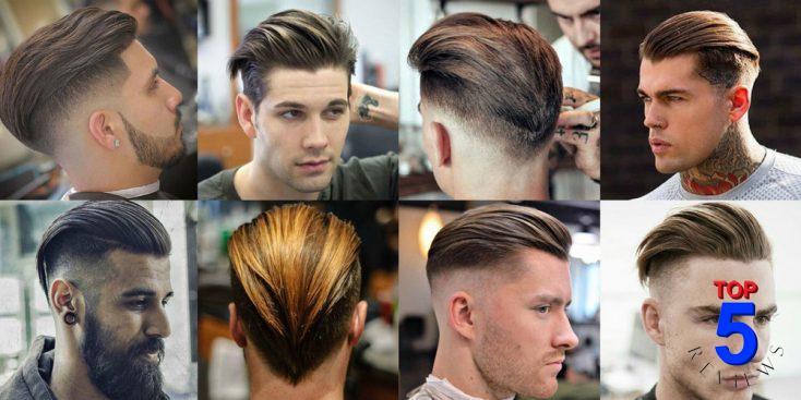 Tóc đẹp cho nam vuốt ngược