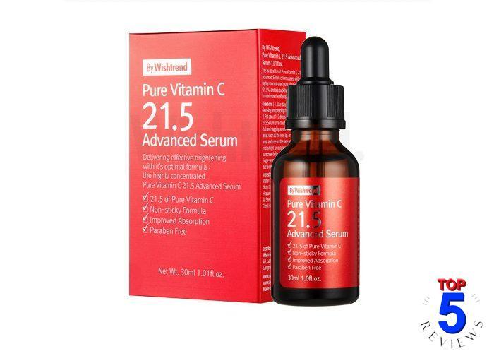 Serum trị sẹo rỗ Hàn Quốc Pure Vitamin C 21.5