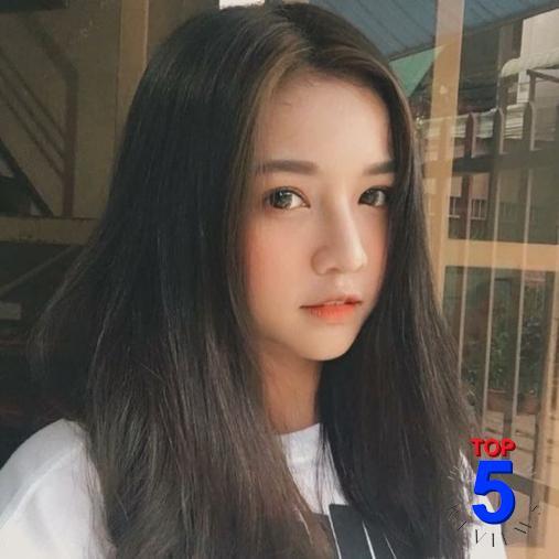Tóc Hàn Quốc cho mặt dài