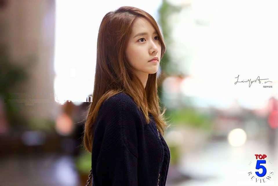 Tóc nữ mái xéo dài suôn thẳng