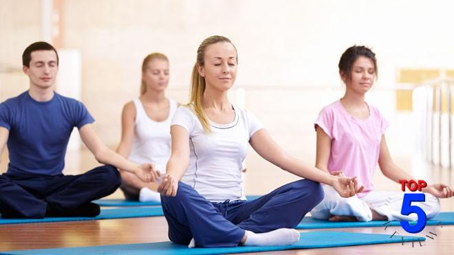 Tập luyện yoga chữa tắc vòi trứngTập luyện yoga chữa tắc vòi trứng