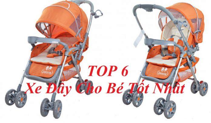 TOP 6 Xe Đẩy Cho Bé Tốt Nhất Các Mẹ Nên Sử Dụng