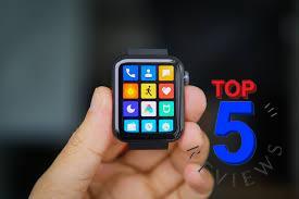 Giao diện trên Xiaomi Mi Watch