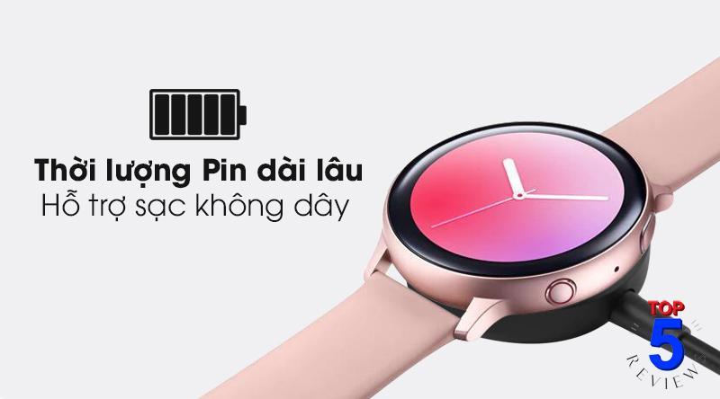 Thời lượng pin Samsung Galaxy Watch