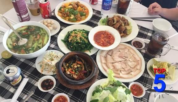 Món ngon Đà Lạt bữa trưa, bữa tối