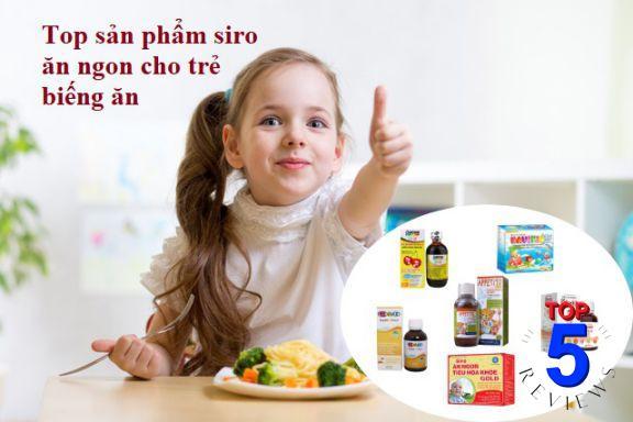 Siro ăn ngon hiệu quả