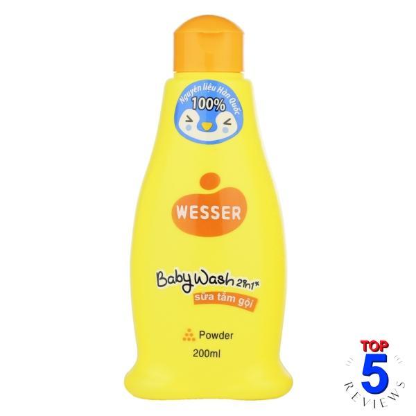 Sữa tắm gội cho bé Wesser Top To Toe