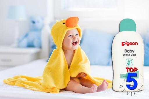 Sữa tắm gội cho bé Pigeon