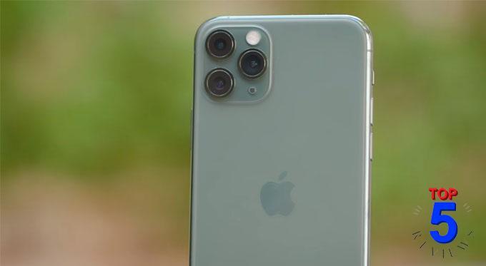 Check bên ngoài và bên trong cụm camera iphone 11 pro max