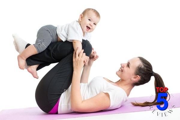 tập thể dục giảm cân nhanh sau sinh