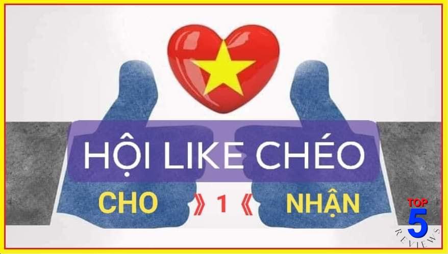 Like chéo (trao đổi like)