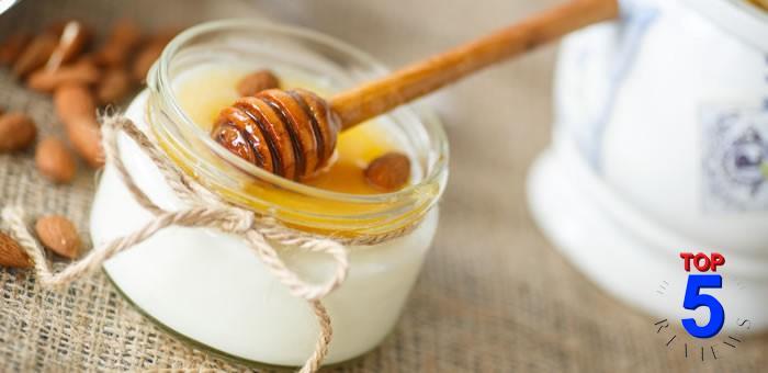 Mặt nạ mật ong và sữa chua trị mụn thâm