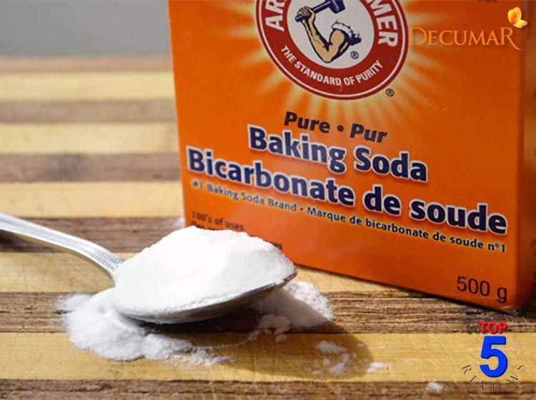 Trị mụn cám bằng bột baking soda