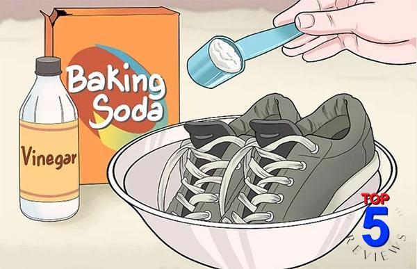 Baking soda Khử mùi giày rất hiệu quả