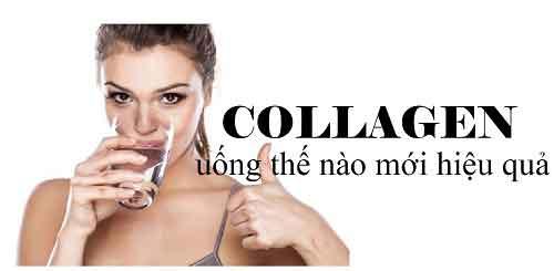 Các lưu ý khi dùng collagen tươi dạng uống