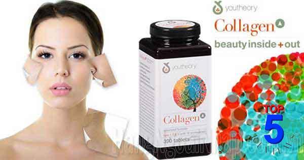 Collagen tươi của Mỹ Youtheory Type 123 390 viên