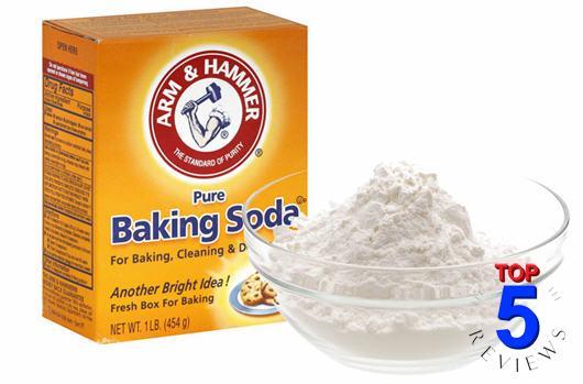Lọc không khí với baking soda