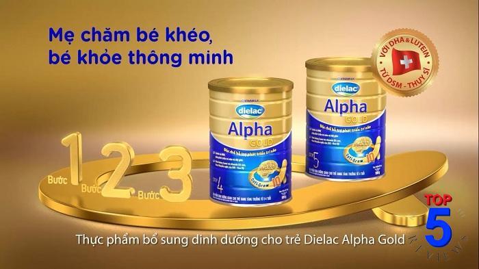 Sữa bột Dielac Alpha Gold số 1