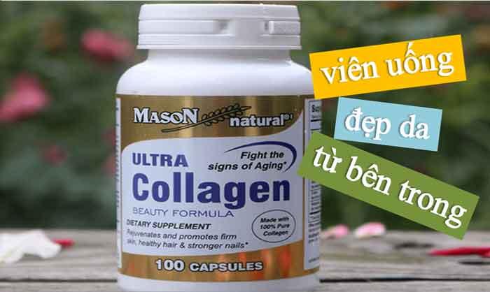 Viên uống collagen tươi của Mỹ Ultra Collagen Mason