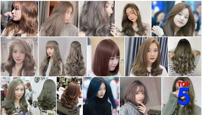 màu tóc nữ đẹp