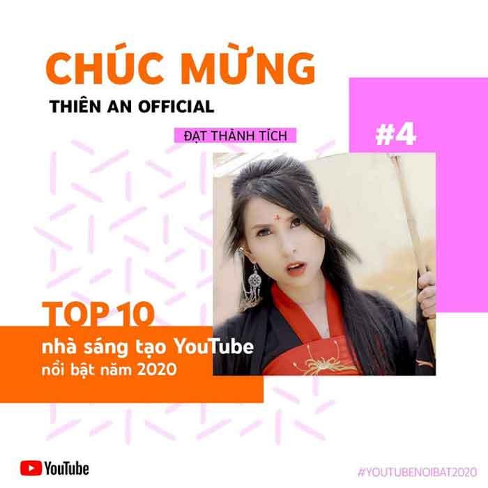 Kênh youtube Thiên An Official