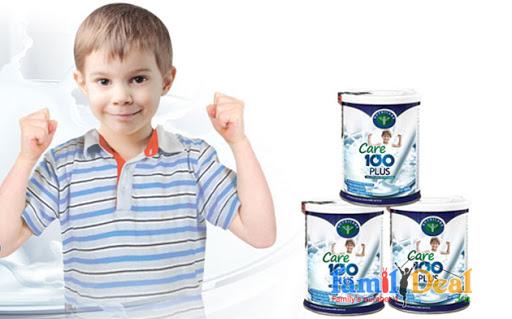 Sữa cho trẻ biếng ăn Nutricare Care 100 Plus