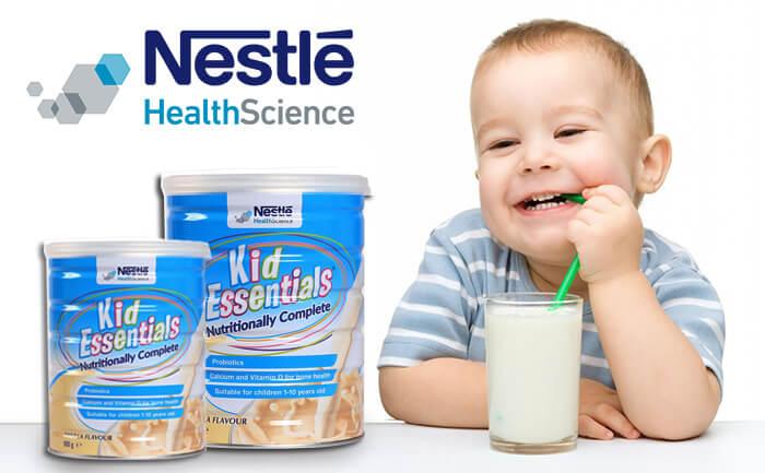Kid Essentials của Nestle nhập khẩu từ Úc