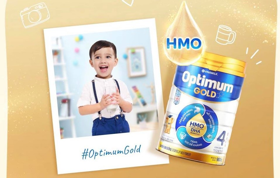 Optimum Gold giúp bé tăng cân, nhanh lớn khôn
