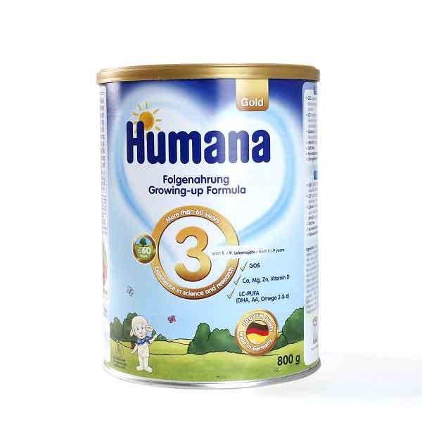 sữa humana số 3