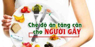 chế độ ăn tăng cân
