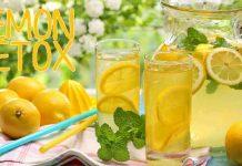 giảm cân Lemon detox