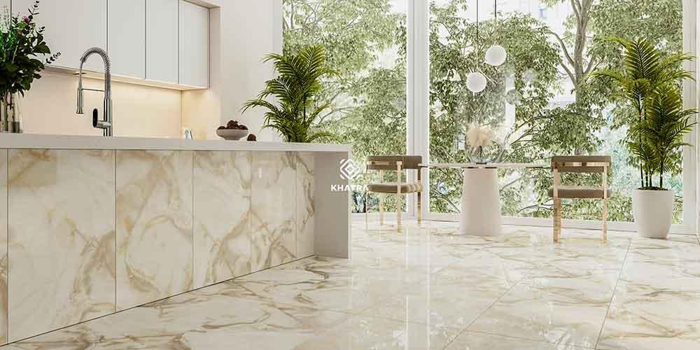 Gạch Marble nhũ vàng KHTR-61205K (600x1200)