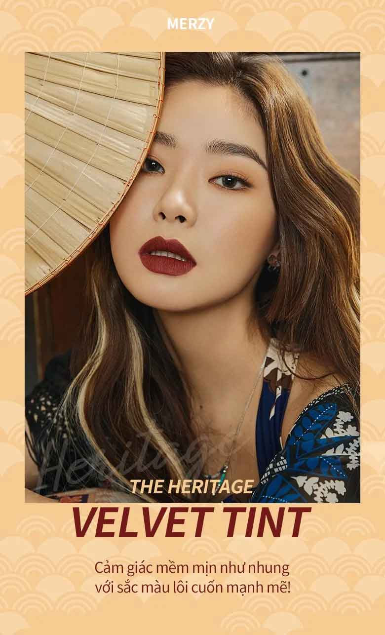 Son Kem Lì Merzy The Heritage Velvet Tint #V22